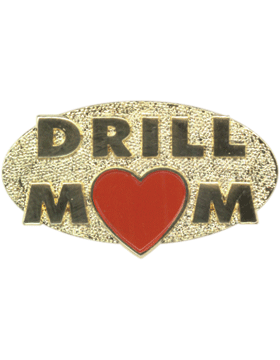 Drill Mom Pin