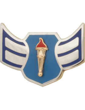 Air Force JROTC Enameled Chevron (RC-502) Airman First Class