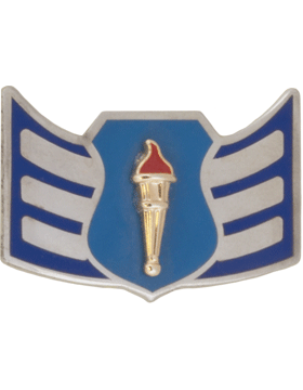 Air Force JROTC Enameled Chevron (RC-503) Senior Airman