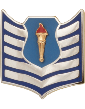 Air Force JROTC Enameled Chevron (RC-505) Tech Sergeant