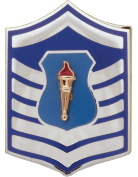 Air Force JROTC Enameled Chevron (RC-506) Master Sergeant