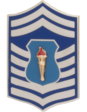Air Force JROTC Enameled Chevron (RC-507) Senior Master Sergeant