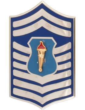 Air Force JROTC Enameled Chevron (RC-508) Chief Master Sergeant