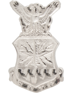 AFROTC Enlisted Cap Device Mini Nickel