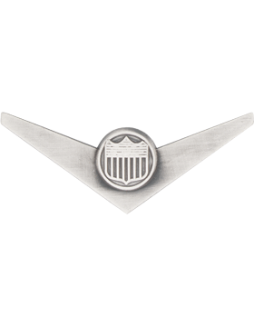 Air Force ROTC Badge (RC-620/SO) Pilot Wings Silver Ox