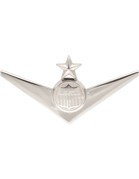Air Force Senior ROTC Badge (RC-621/N) Solo Pilot with Star Nickel