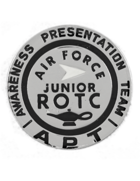 Air Force ROTC Badge (RC-627) APT Round Nickel