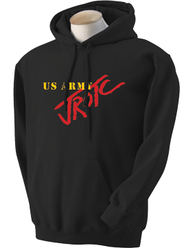 US Army JROTC Hooded Sweatshirt 18500