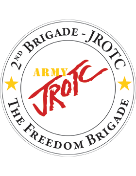 JROTC 2nd Army Brigade Sticker
