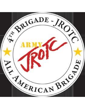 JROTC 4th Army Brigade Sticker
