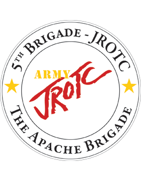 JROTC 5th Army Brigade Sticker