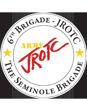 JROTC 6th Army Brigade Sticker