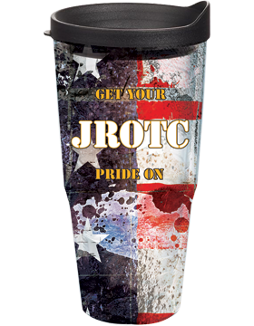 GET YOUR JROTC PRIDE ON Tumbler on Stars & Stripes