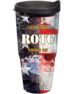 Get Your ROTC Pride On Tumbler on Stars & Stripes