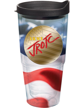 U.S. ARMY JROTC Tumbler with Army JROTC Flag