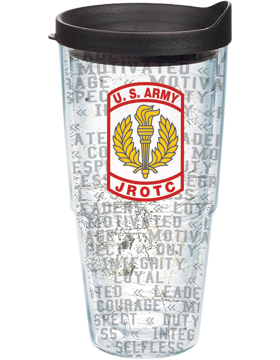 U.S. ARMY JROTC Tumbler with JROTC Patch