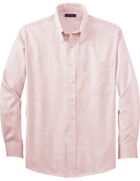 Red House® Non-Iron Pinpoint Oxford RH24 Pink