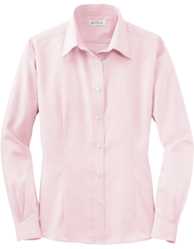 Red House® Ladies Non-Iron Pinpoint Oxford RH25 Pink