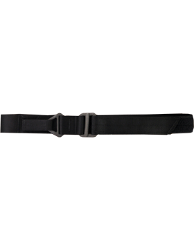 Black Rigger Belt with Heavy Duty Buckles