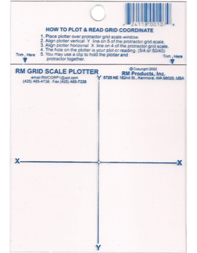 Grid Scale Plotter 4in X 4in Speed & Accuracy #24