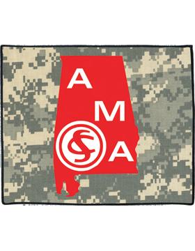 Alabama Military Academy Rug