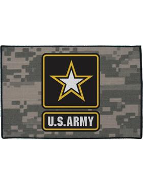 U.S. Army Star on ACU Rug