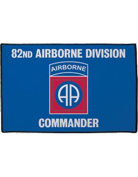 82nd Airborne Division, Commander on Blue Rug