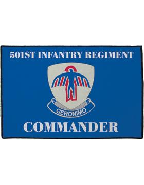 501st Infantry Regiment, Commander on Blue Rug
