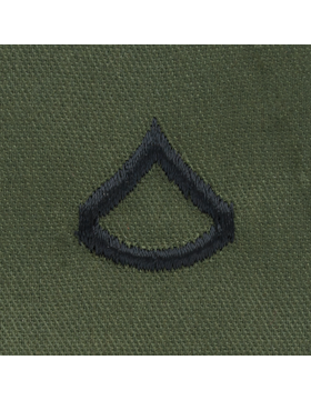 Subdued Sew-on Rank S-102 Private (E-3)