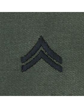 Subdued Sew-on Rank S-103 Corporal (E-4)
