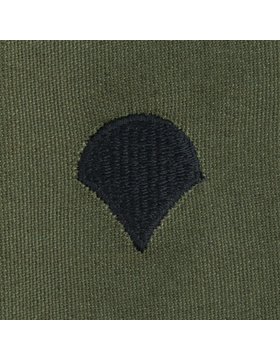 Subdued Sew-on Rank S-104 Specialist Four (E-4)