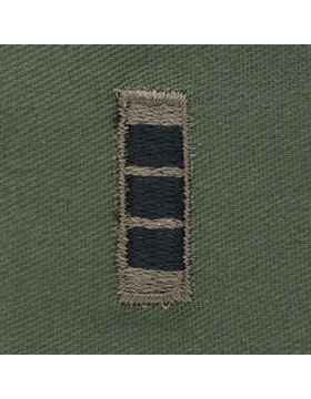 Subdued Sew-on Rank S-114 Warrant Officer Three