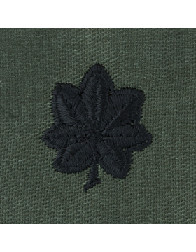 Subdued Sew-on Rank S-120 Lieutenant Colonel