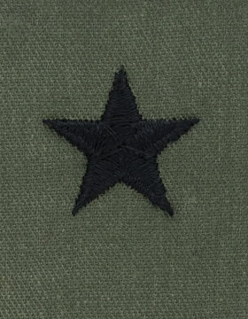 Subdued Sew-on Rank S-122 Brigadier General