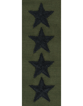 Subdued Sew-on Rank S-125-C Point to Center General