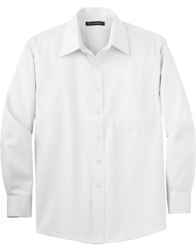 Port Authority® Long Sleeve Non-Iron Twill Shirt S638
