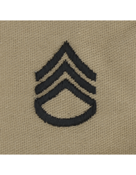 Desert Sew-on SD-106 Staff Sergeant (E-6)