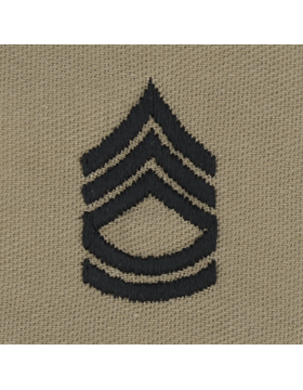 Desert Sew-on SD-107 Sergeant First Class (E-7)
