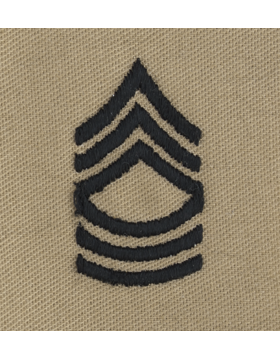 Desert Sew-on SD-108 Master Sergeant  (E-8)