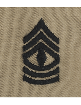 Desert Sew-on SD-109 First Sergeant (E-8)