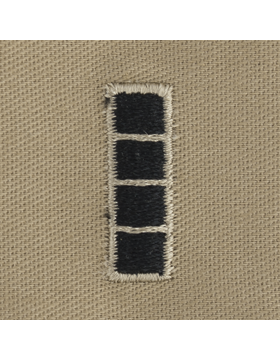 Desert Sew-on SD-115 Warrant Officer 4