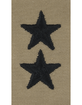Desert Sew-on SD-123-C Major General (Point to Center)