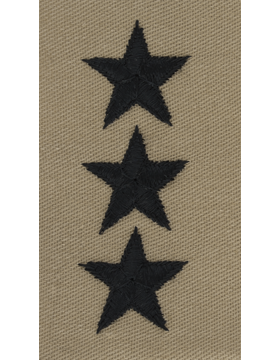 Desert Sew-on SD-124-C Lieutenant General (Point to Center)