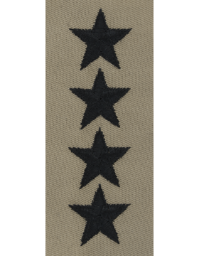 Desert Sew-on SD-125-C General (Point to Center)