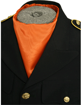 Bib Scarf (SF-203) Orange Satin