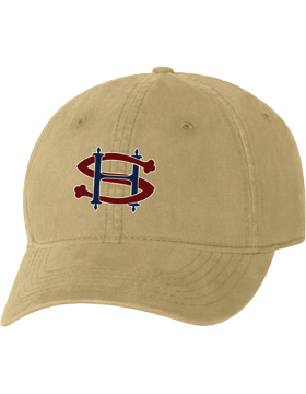 Sacred Heart SH Khaki Unstructured Cap
