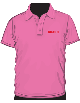 Anvil Ladies Polo Shirt Heavyweight 100% Cotton Azalea