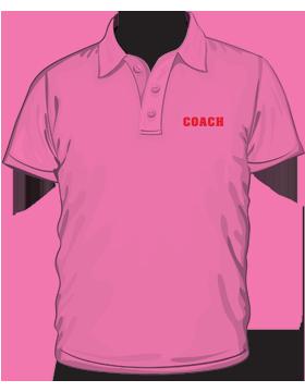 Anvil Ladies Polo Shirt Heavyweight 100% Cotton Azalea