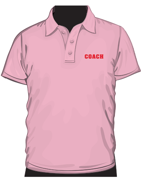Anvil Ladies Polo Shirt Heavyweight 100% Cotton Charity Pink
