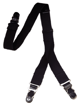 Shirt Garters (PE-H05-B) Black (2 Piece)